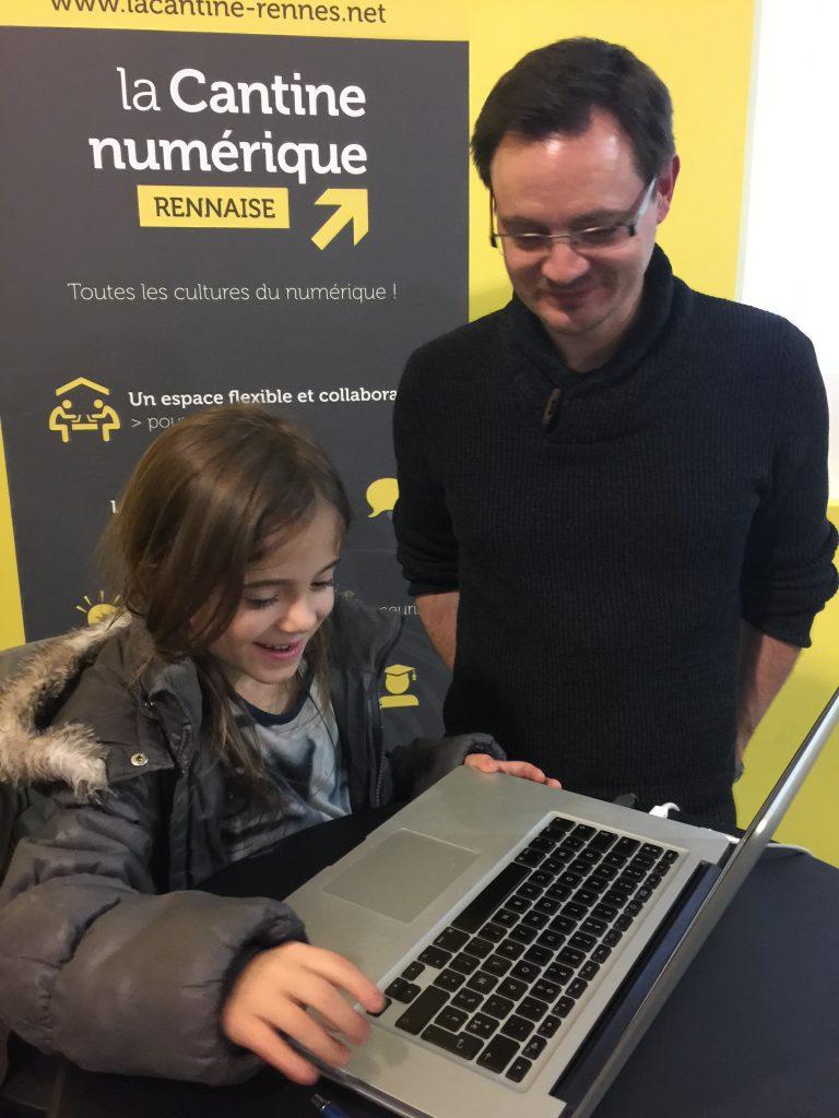 Notre atelier pour apprendre à coder à la Cantine Numérique Rennaise